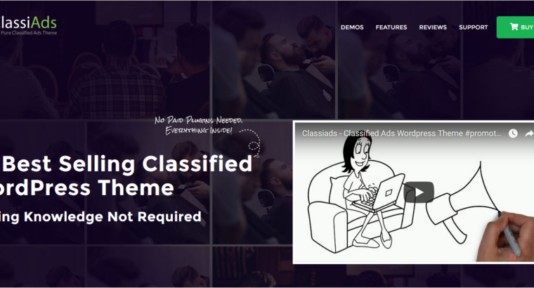 Best Classifieds WordPress Theme