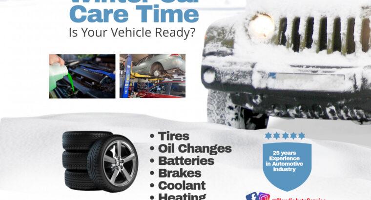 Prepare su vehículo para el invierno